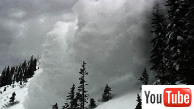 AMAZING VIDEO - Outrunning an Avalanche!!