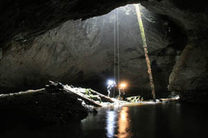 Caving Expedition, Vancouver Island